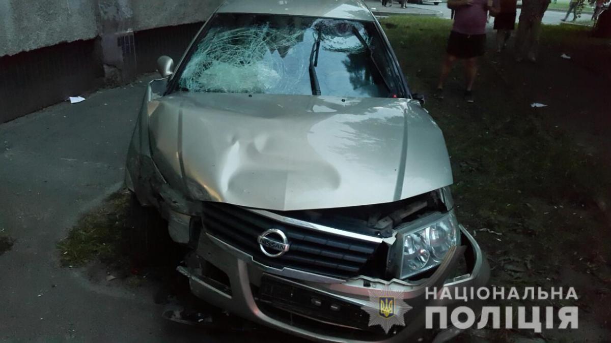 В результате аварии есть пострадавшие / facebook.com/police.kharkov