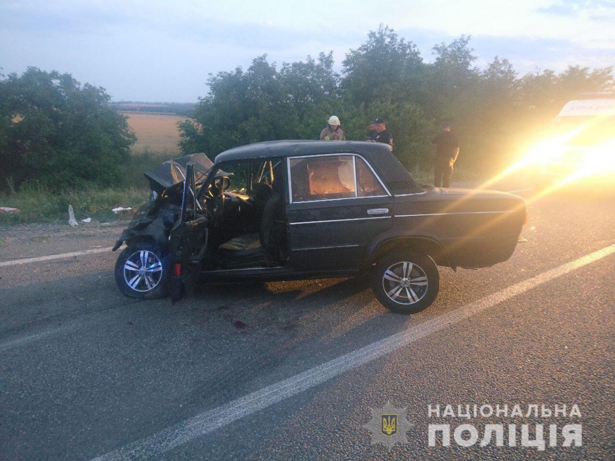 В аварии погибли двое людей / od.npu.gov.ua