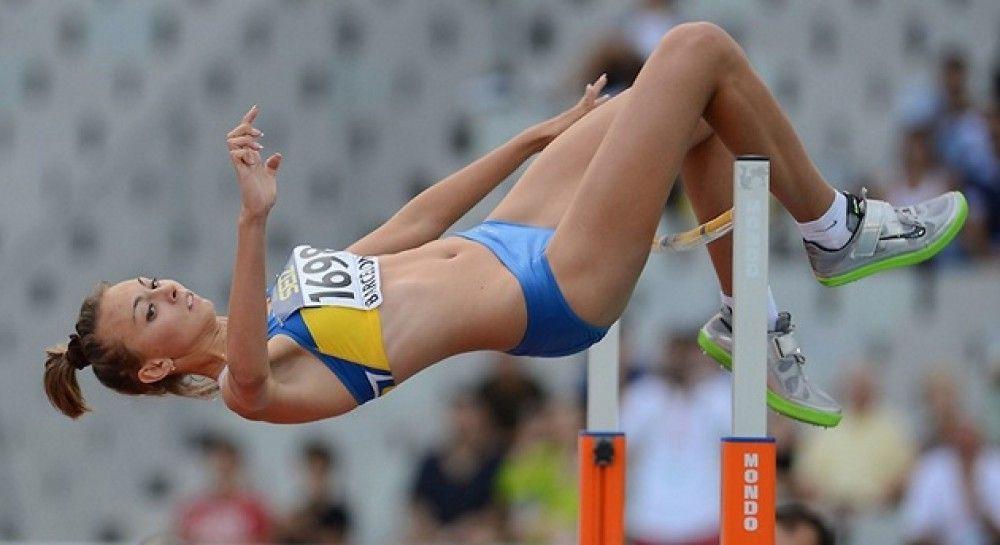 Ірина Геращенко показала результат 1,90 метра / фото: НОК України