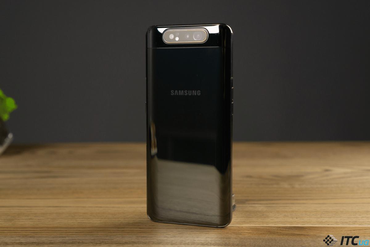 Samsung объяснила, как устроена камера-перевертыш смартфона Galaxy A80