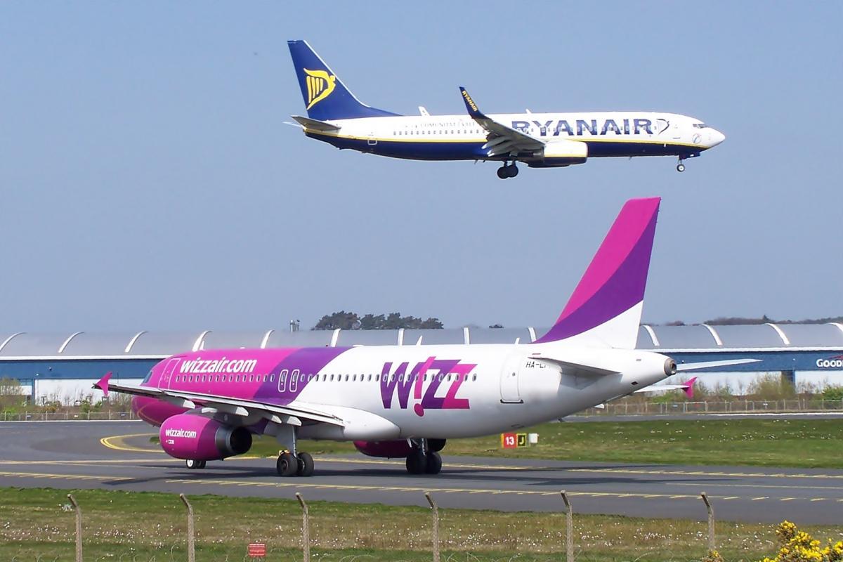 Ryanair ввів спецтарифи з Києва для пасажирів Wizz Air / фото flickr.com/markyharky
