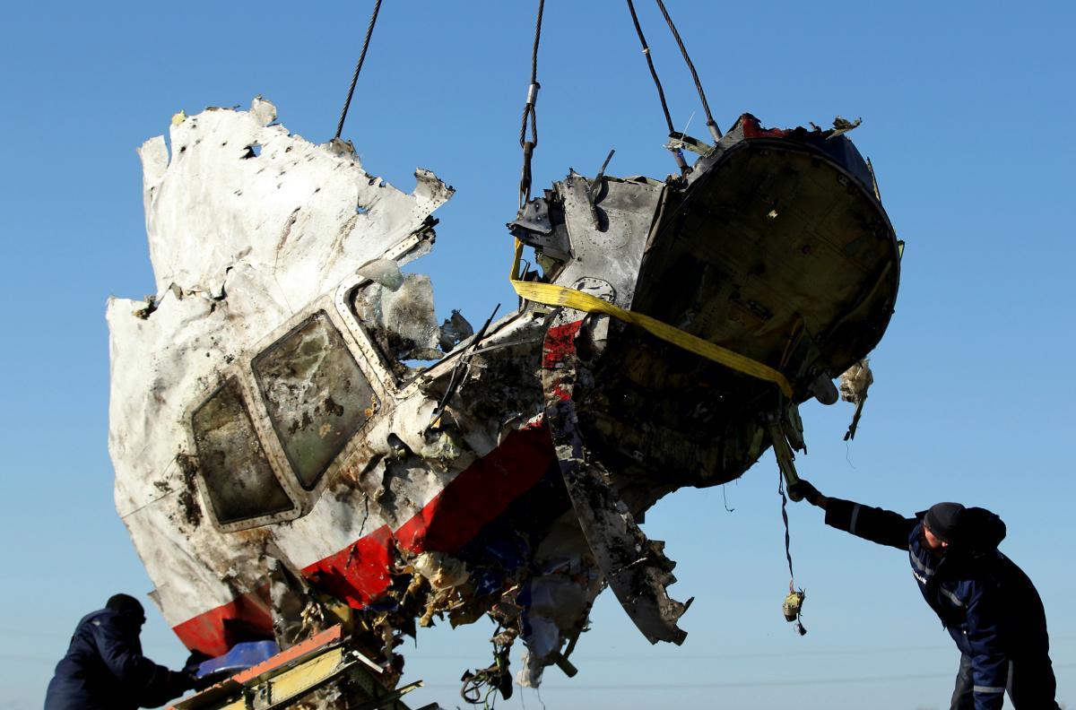 Самолет авиакомпании Malaysia Airlines, сбитый из российского оружия над оккупированным Донбассом / фото REUTERS