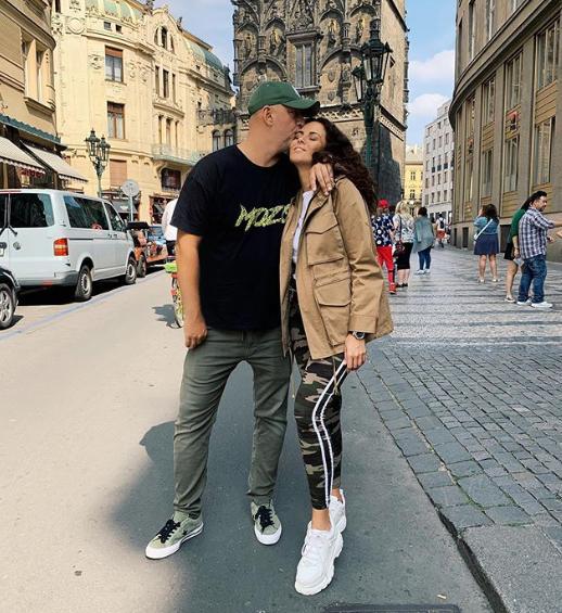 Пара отдыхает в Праге / instagram.com/kamenskux