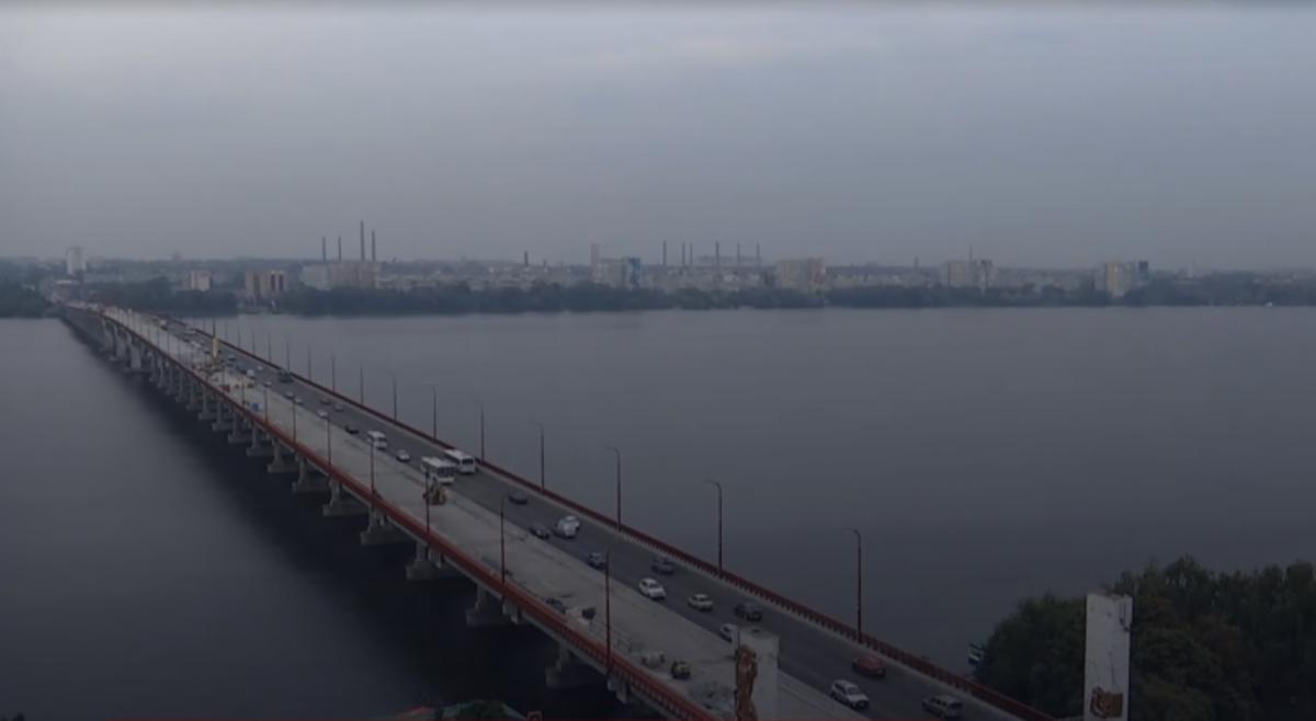 Мост будут ремонтировать два месяца / скриншот