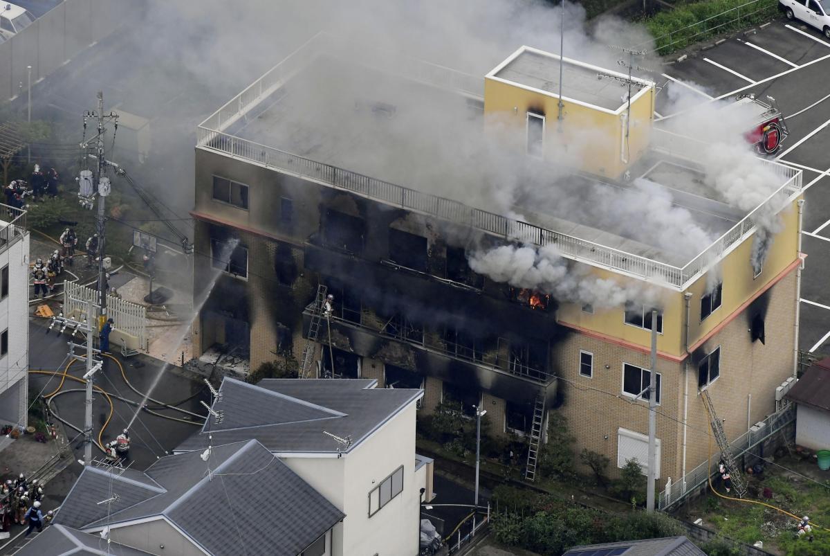 Число жертв страшного пожара в японской аниме-студии возросло / REUTERS