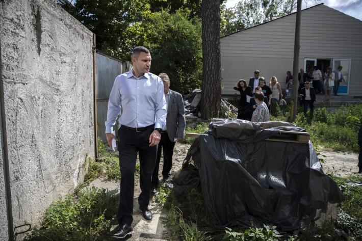 Кличко инициировал служебное расследование в отношении руководства Святошинского детского дома-интерната / kiev.klichko.org