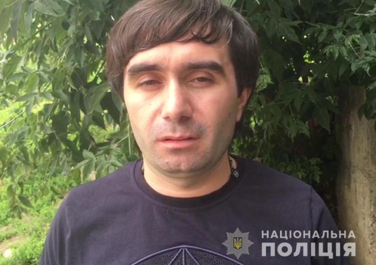 В 2018 году НукриГальского уже задерживали в Киеве / фото kyiv.npu.gov.ua