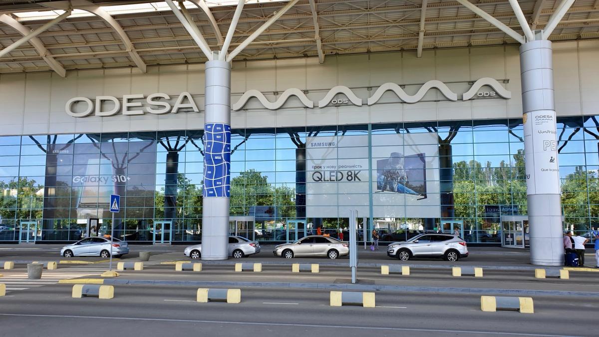 Термінал зможе обслуговувати 1 тис. пасажирів на годину / фото facebook.com/odessa.aero