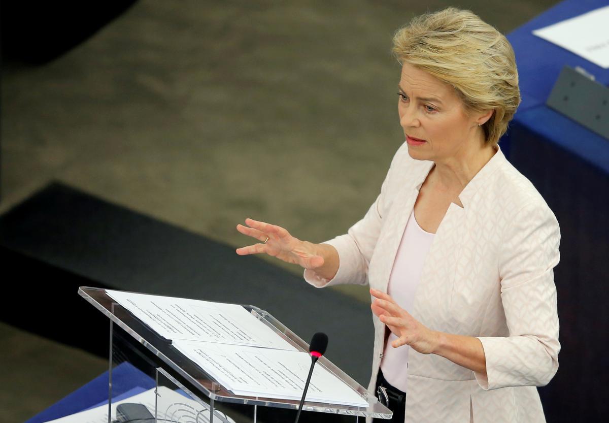 Урсула фон дер Ляєн потрапила в скандал через відмову Зеленському / фото REUTERS