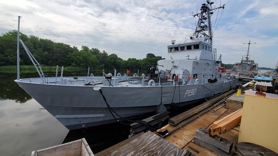Під час випробувань на борту Р-191 були присутні й українські екіпажі катерів типу «Айленд»/ АрмияINFORM
