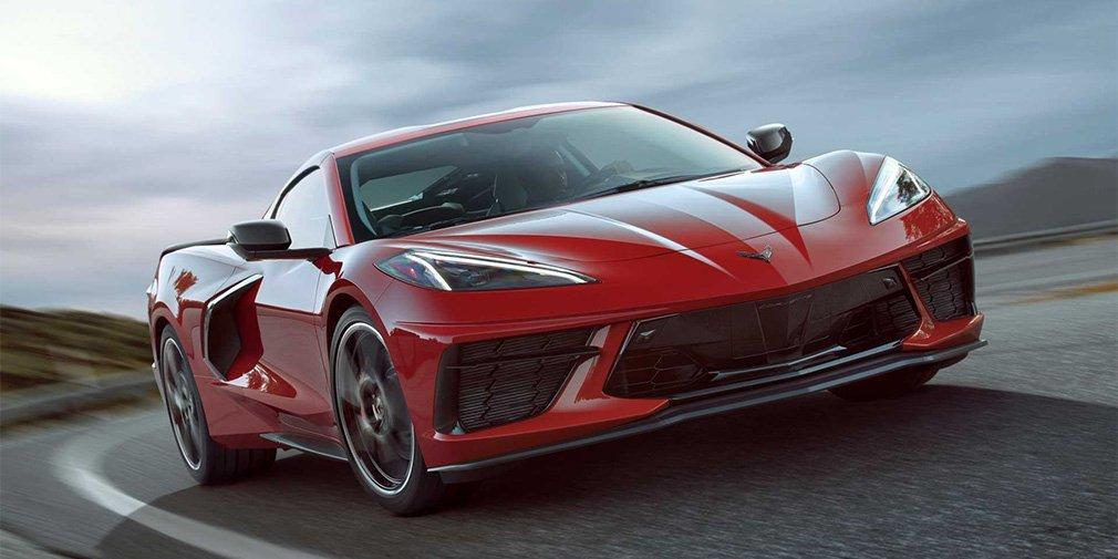 Chevrolet представив середньомоторний Corvette / фото Chevrolet