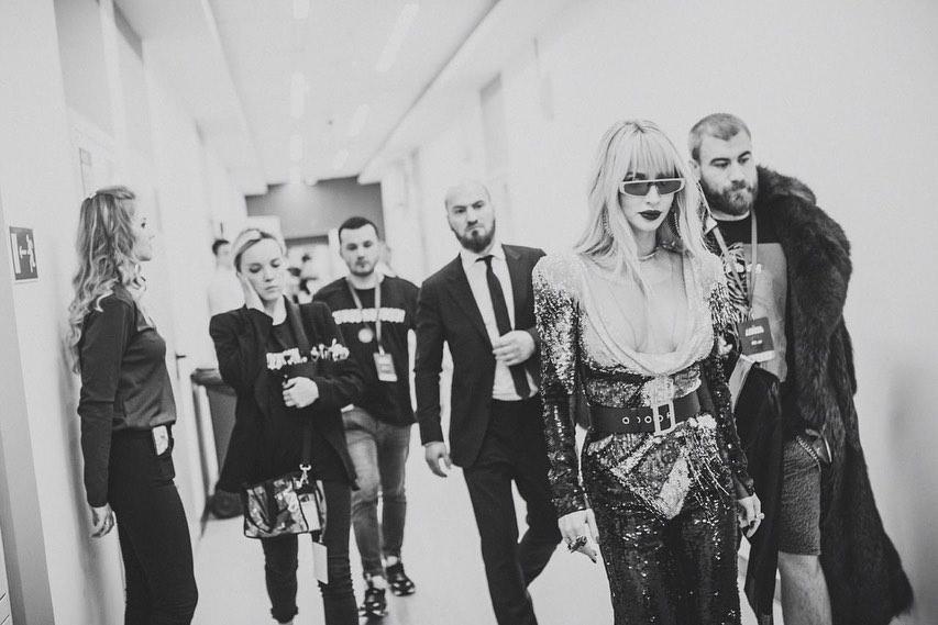 Лобода показала відео з концерту в Росії / фото nstagram.com/lobodaofficial