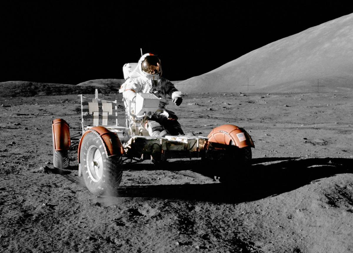 """""""Аполлон 17"""" был последней пилотированной миссией на Луну / Flickr/GPA Photo Archive"""