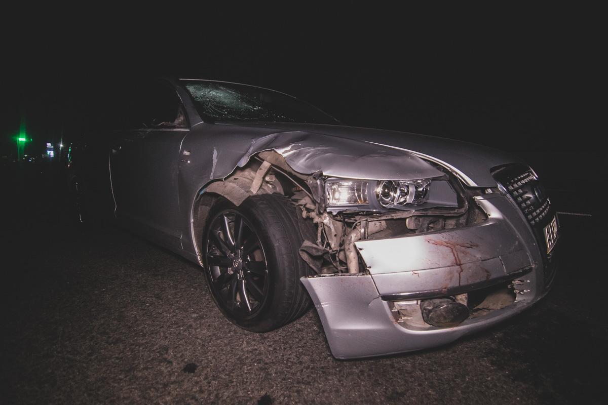 Під Києвом Audi збив трьох людей / фото Роман Барабаш / Інформатор