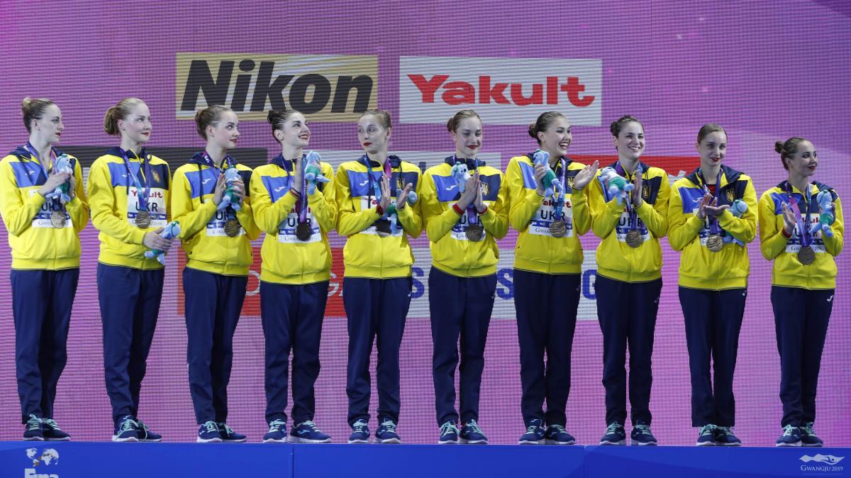 Збірна України з синхронного плавання / REUTERS