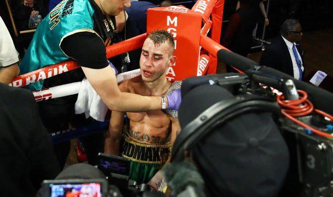 Бой с участием Максима Дадашева бьіл остановлен после одиннадцатого раунда / фото: BoxingScene