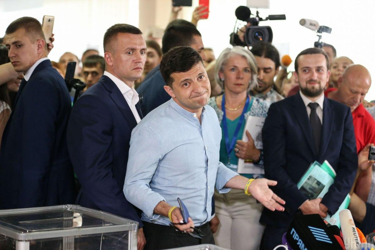 Зеленський став символом змін для пострадянського простору / фото УНІАН