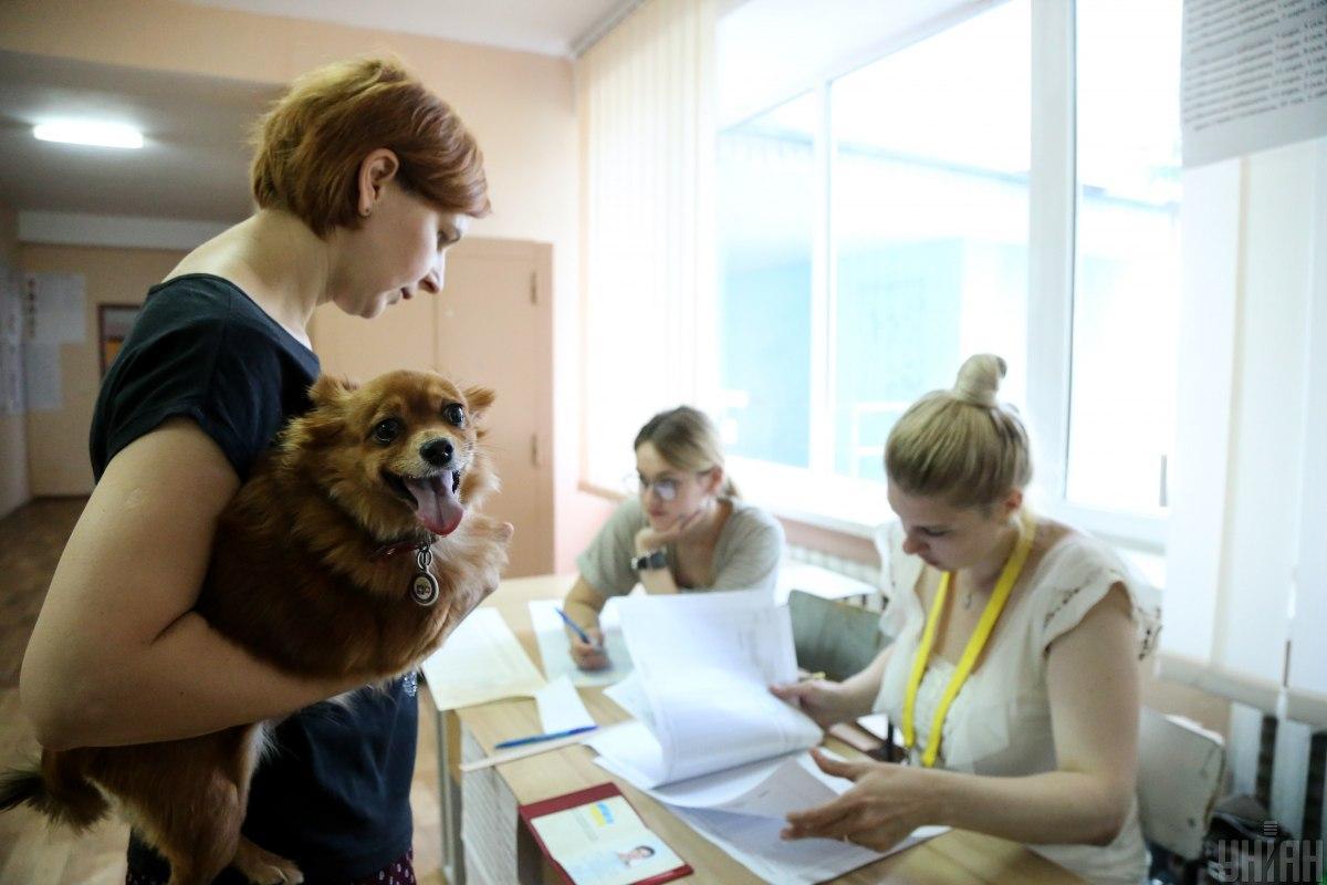 Явка на парламентских выборах составляет 36,59% / Фото УНИАН