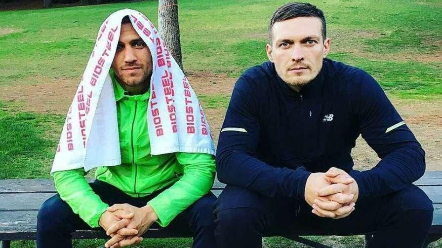 Ломаченко и Усик находятся в Лондоне / фото: instagram.com/usykaa