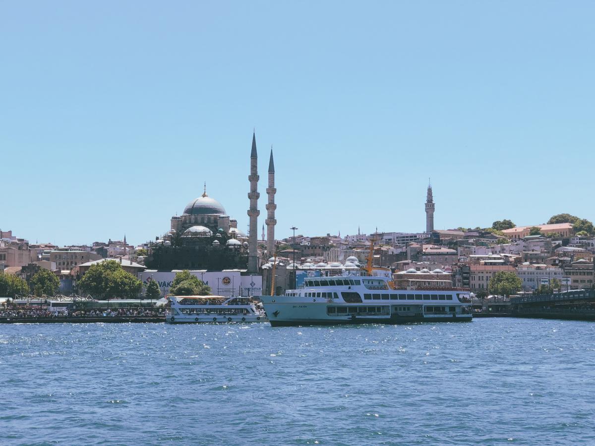 Вид на Босфор в Стамбуле / Фото Вероника Кордон