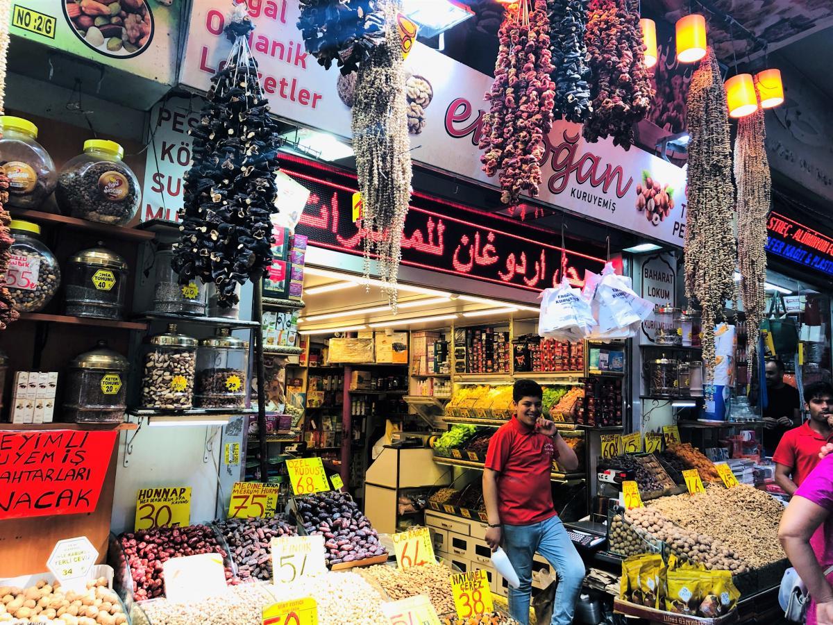 На турецком рынке необходимо торговаться / Фото Вероника Кордон