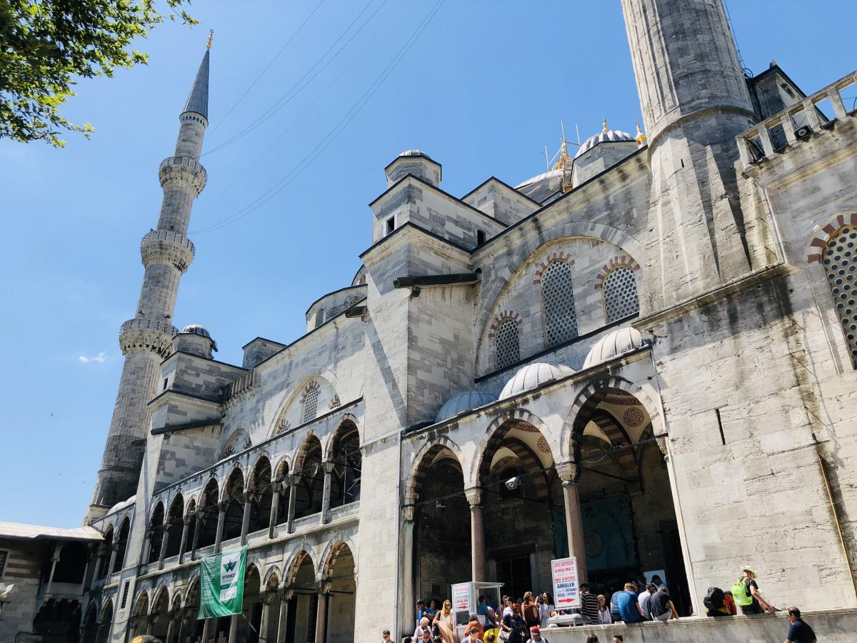 В Стамбуле есть ограничения на фото- и видеосъемку / Фото Вероника Кордон