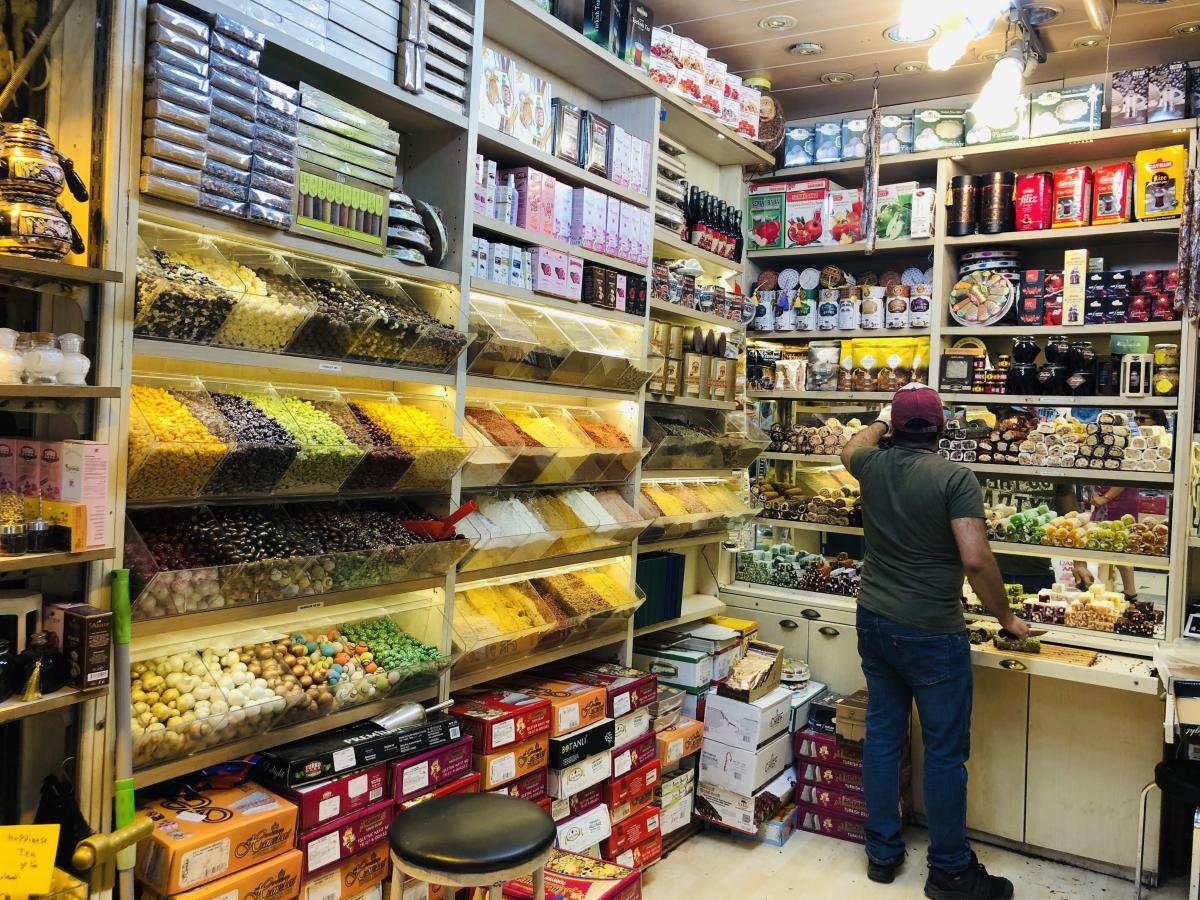 На стамбульских рынках вас накормят бесплатно / Фото Вероника Кордон