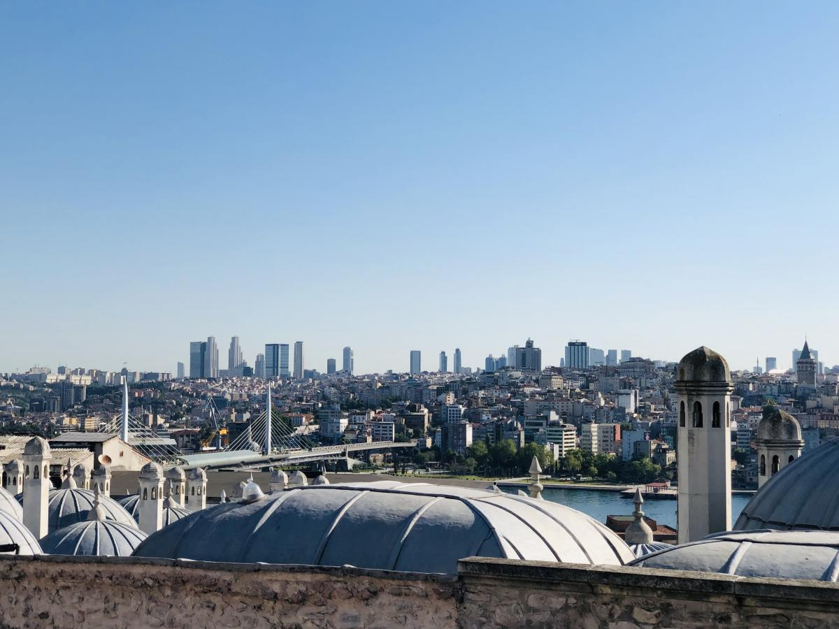 Стамбул – удивительный город / Фото Вероника Кордон