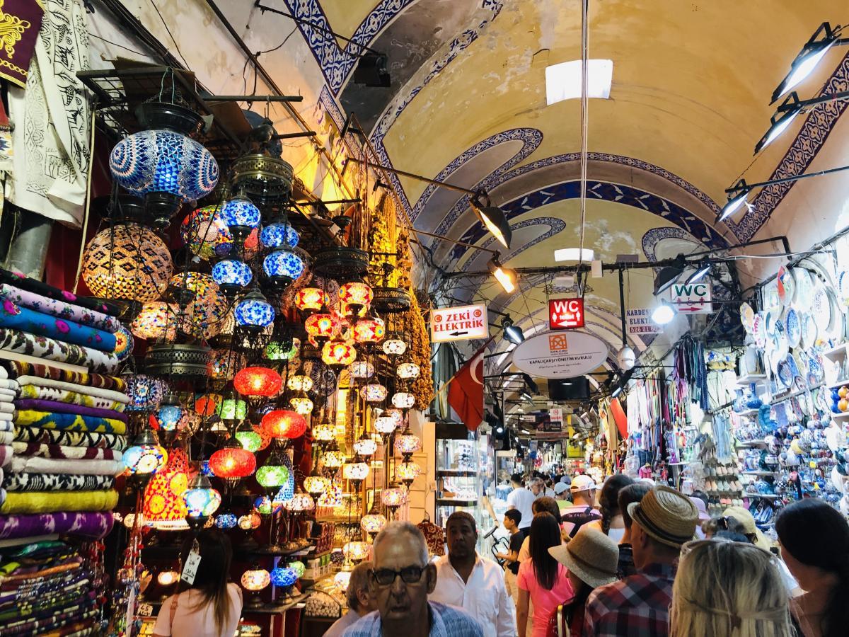 Гранд базар в Стамбуле / Фото Вероника Кордон