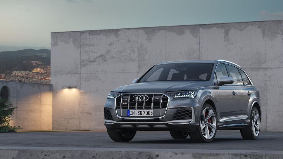 Audi оновила кросовер SQ7 / фото Audi