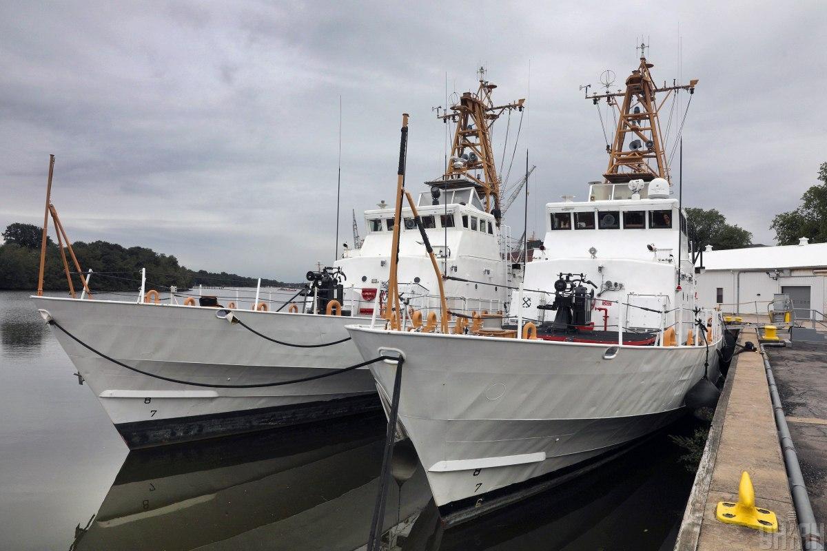 """В прошлом году США передали Украине первые два патрульных катера класса """"Айленд"""" / фото УНИАН"""