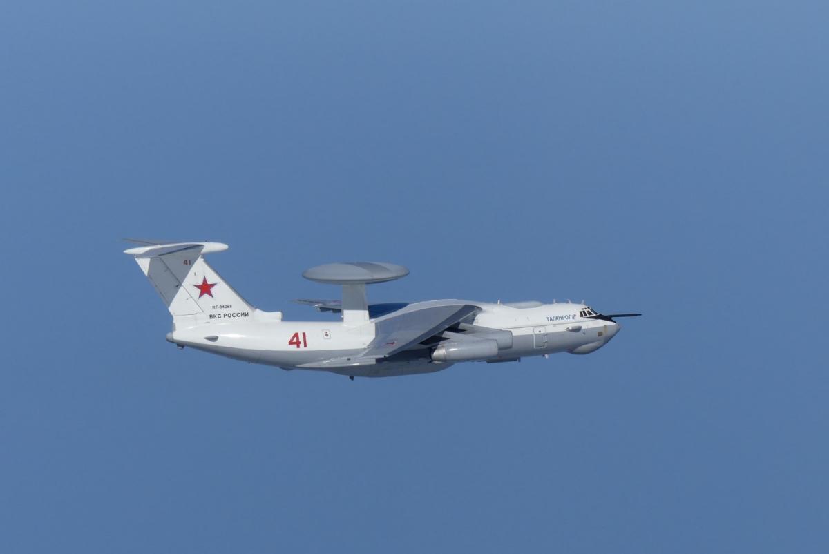 Российский военный самолет возле Японии и Южной Кореи / REUTERS