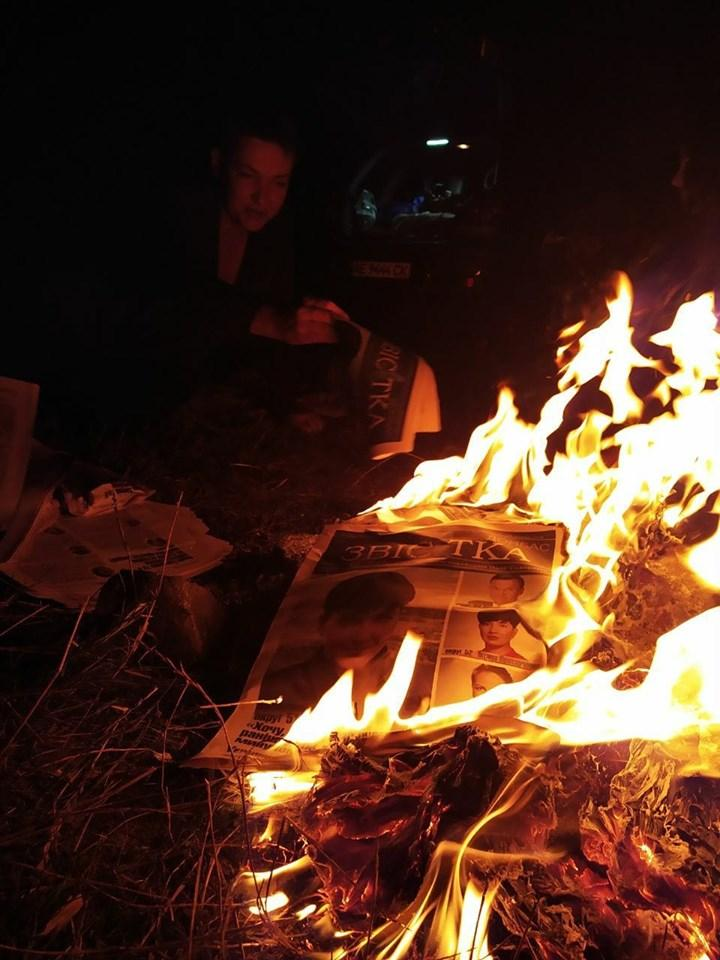 """Савченко пожелала """"освобождения"""" всем / фото: Надежда Савченко/Facebook"""