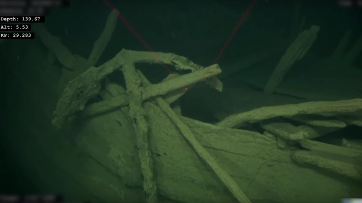 Надне Балтийского моря отыскали затонувший около 500 лет назад корабль