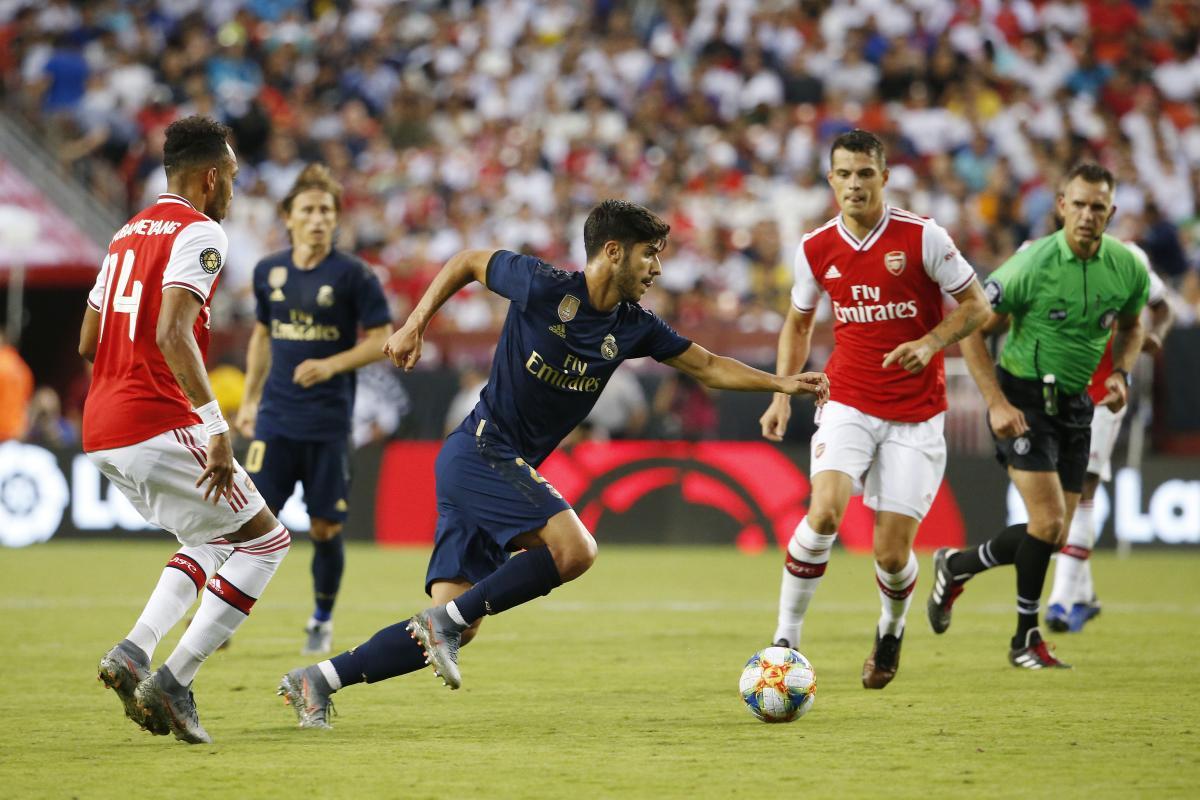 Реал - Арсенал / REUTERS