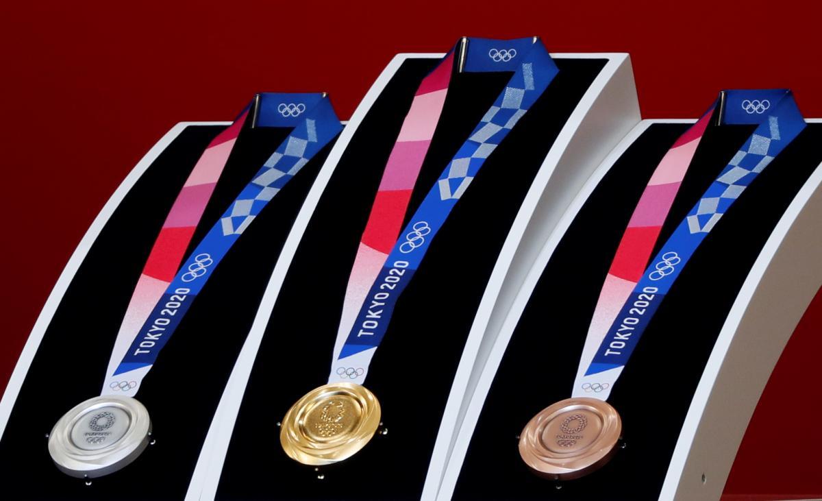 Медалі Олімпіади-2020 / REUTERS