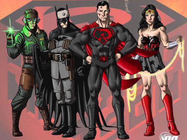 РосТВ нашло русофобию в новом мультфильме DC о Супермене-коммунисте (видео)