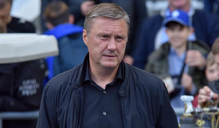 Хацкевич взяв провину на себе / фото: dynamo.kiev.ua