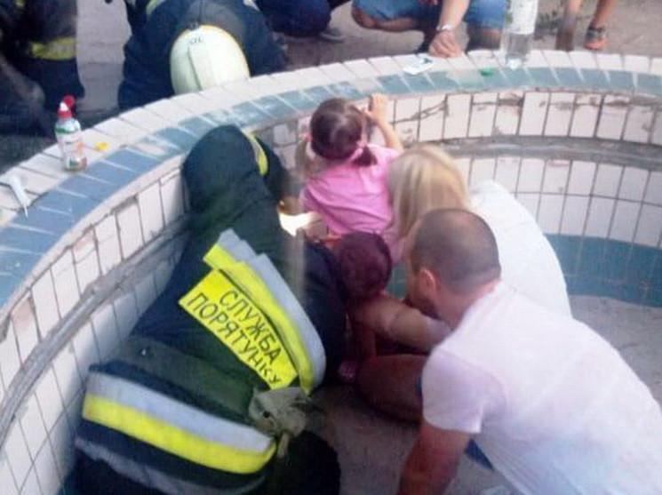 До порятунку дитини залучались працівники ДСНС / фото ГУ ДСНС у Дніпропетровській області
