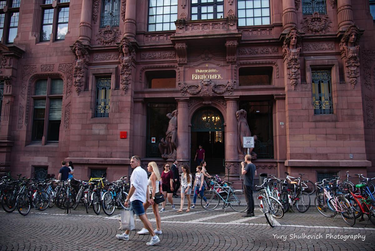 Університетська бібліотека містає найстарішою в Німеччині/фото Yury Shulhevich