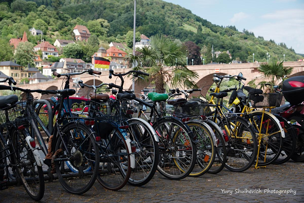 У Хайдельбергу дуже багато велосипедів / фото Yury Shulhevich