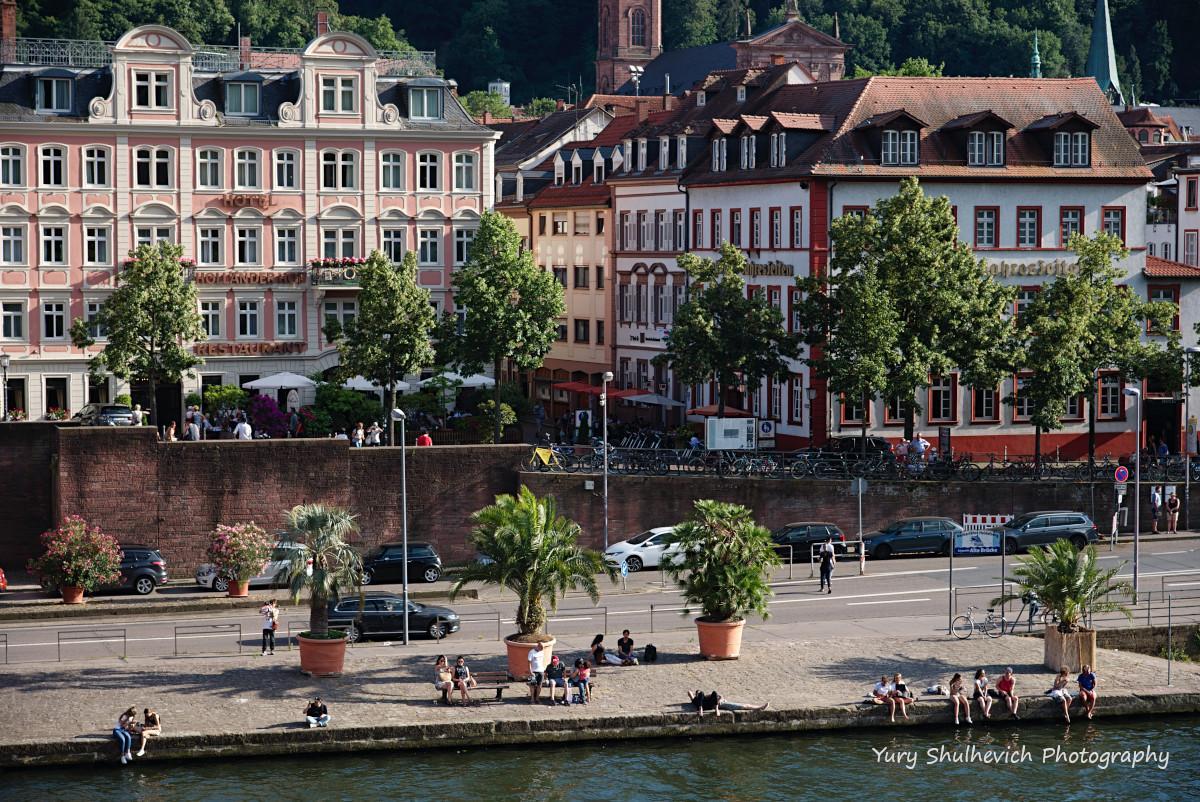 Клімат у Хайдельбергу один з найтепліших у Німеччині/ фото Yury Shulhevich