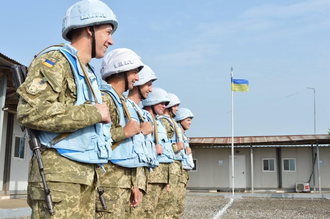 Украинские миротворцы / фото Генштаб ВСУ