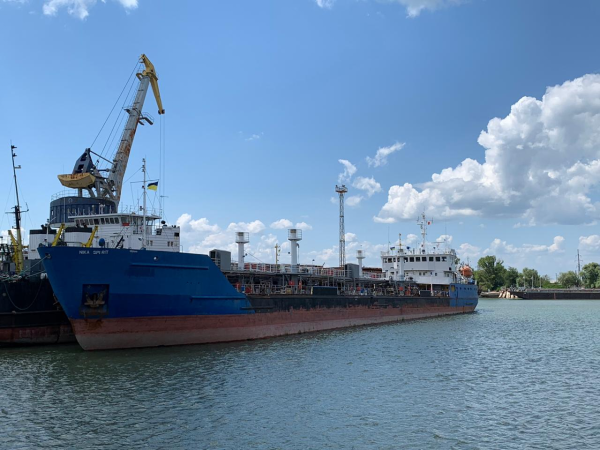 The Russian tanker was detained in Ukraine on July 25 / dpsu.gov.ua