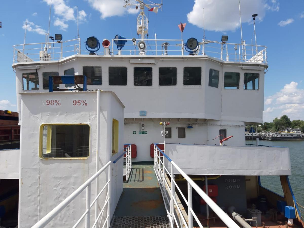Корабль остается в Измаиле / dpsu.gov.ua