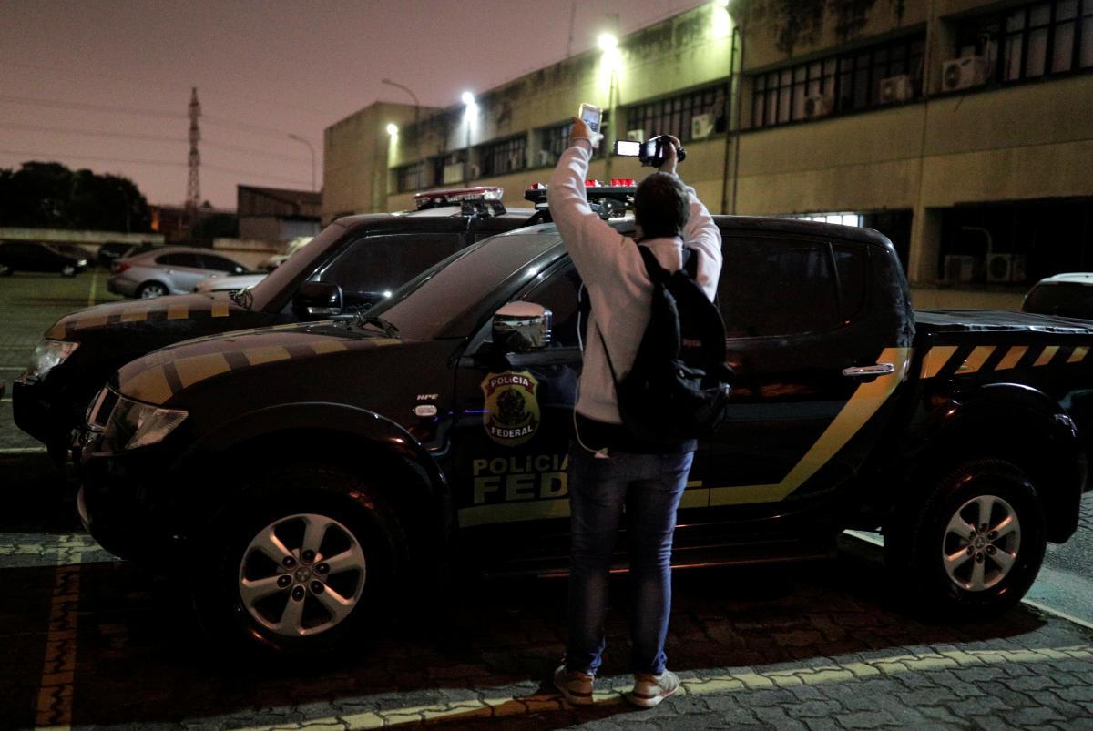 Автомобиль, который использовали грабители / REUTERS