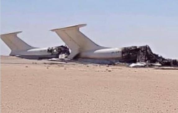 Інформація про належність літаків Україні непідтверджена / фото twitter.com/Balzawawi_ly