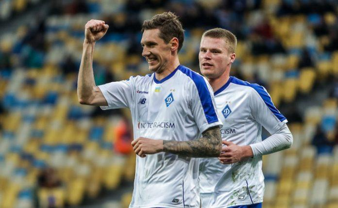 Harmash scored one of the two winning goals / Photo from FC Dynamo