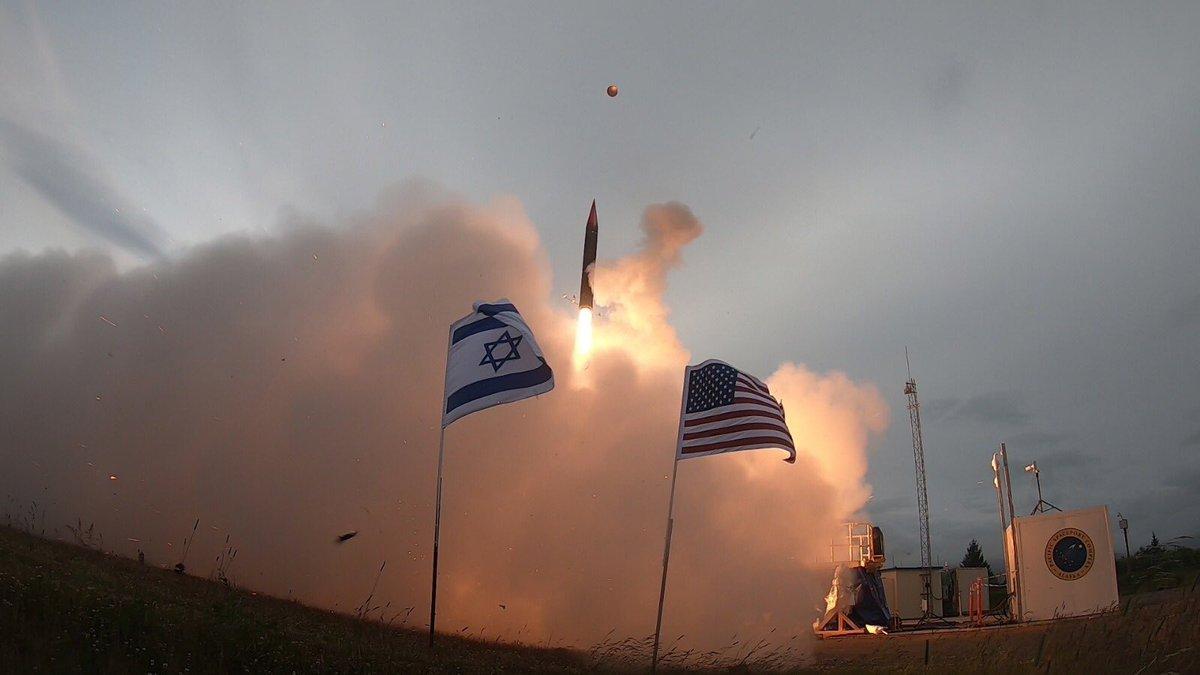 Новая системапротиворакетной обороны называется Hetz-3/ Фото: Benjamin Netanyahu/Twitter