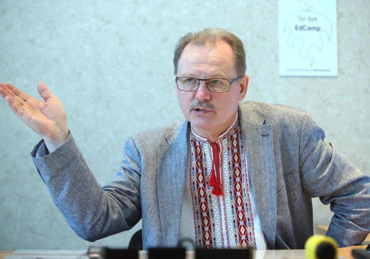 Сергій Горбачов наголосив нанебезпечностіпоборів у школах / фото УНІАН,Олександр Синиця